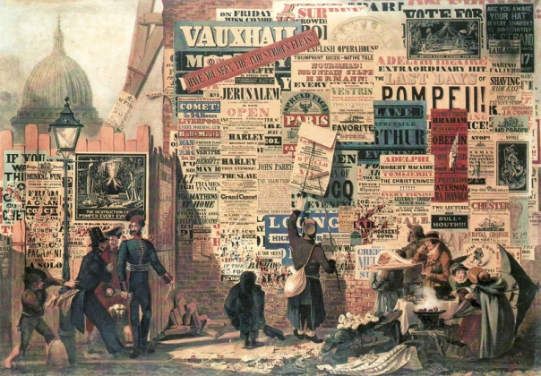 "James Orlando Parry, ""A London Street Scene"" (1835)"
