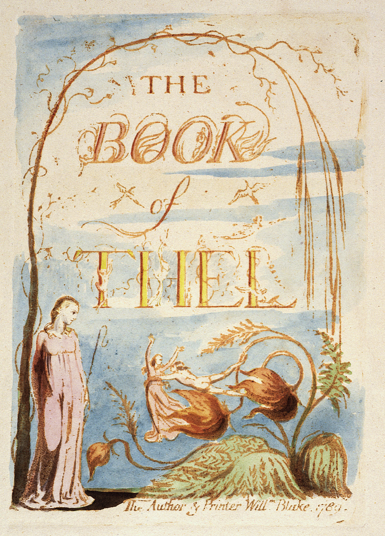 The Book of Thel, copy B, object 2