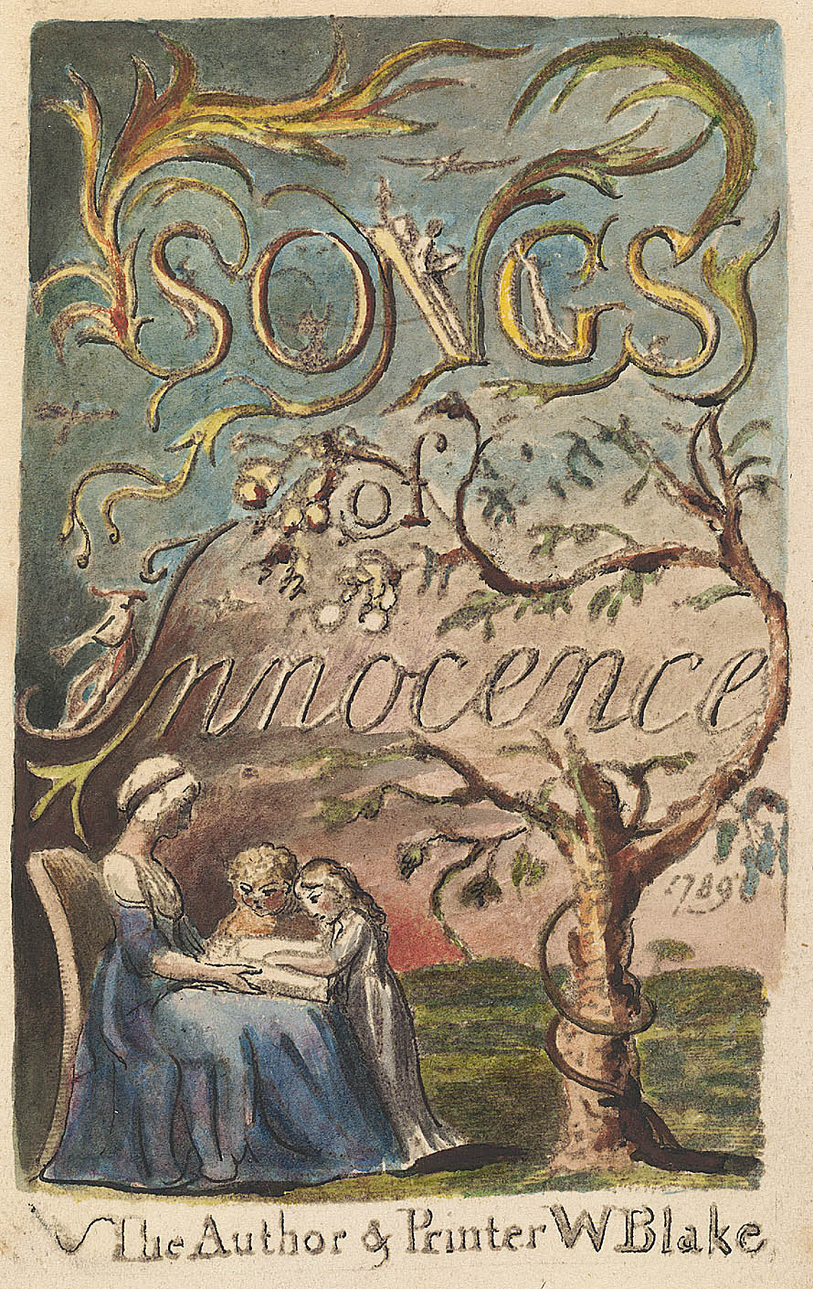 Songs of Innocence, copy L, object 2
