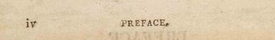 IV. Preface