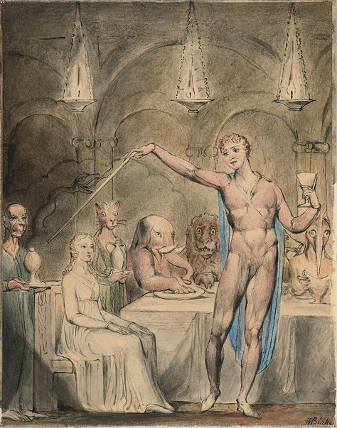 Illustrations to Milton's Comus by William Blake