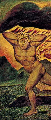 """Manuscript image of a """"mad man"""""""