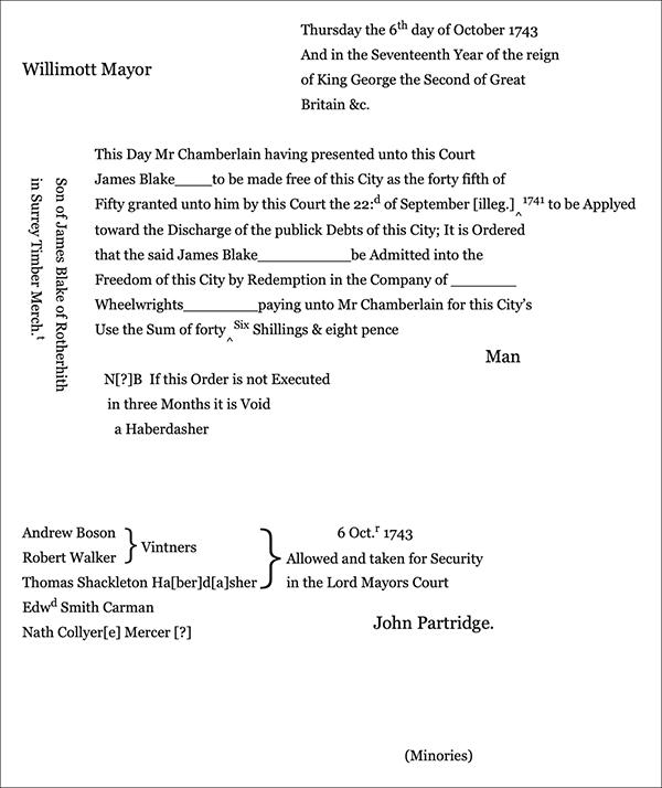 Document concerning James Blake