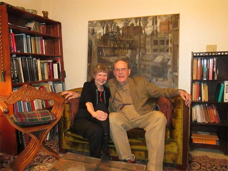 Photo of Mary Lynn Johnson and Jack Grant